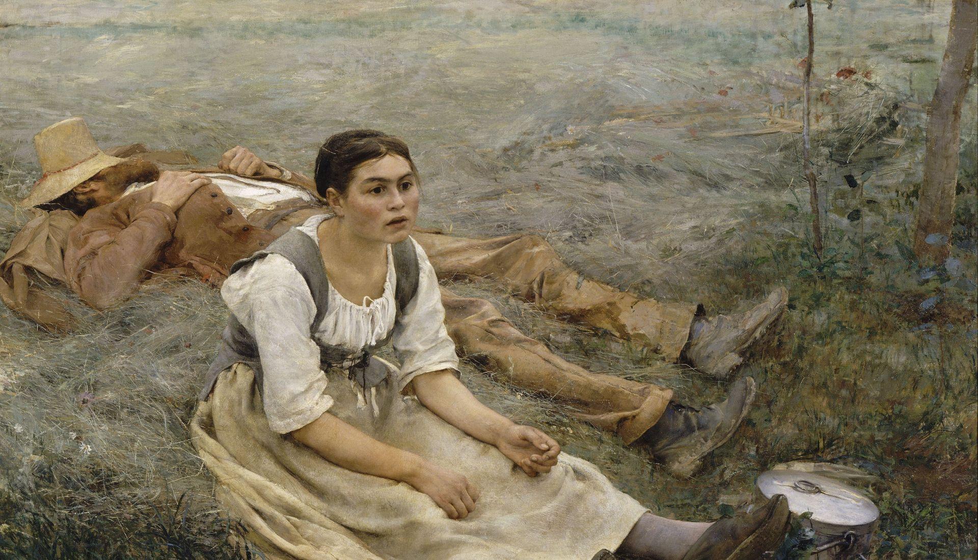 La peinture réaliste française : la grandeur des