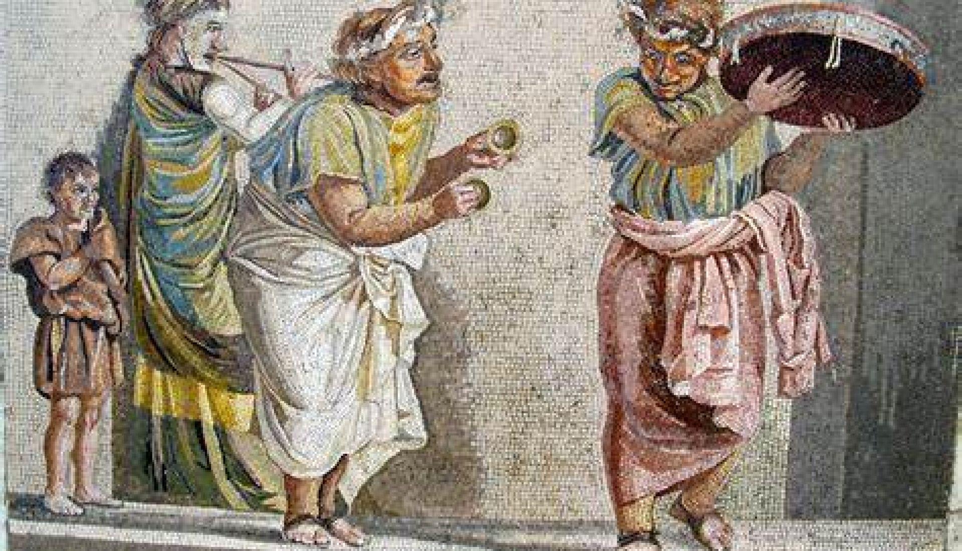 Le théâtre à la fin de l'Antiquité : acteurs, danseurs et pantomimes