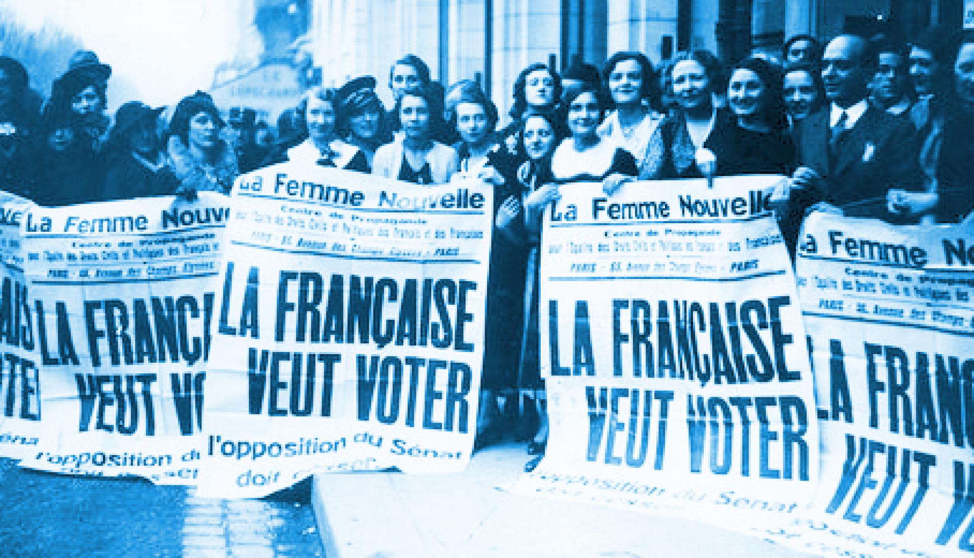 1900-1945 : Les Femmes Françaises et le Droit de vote