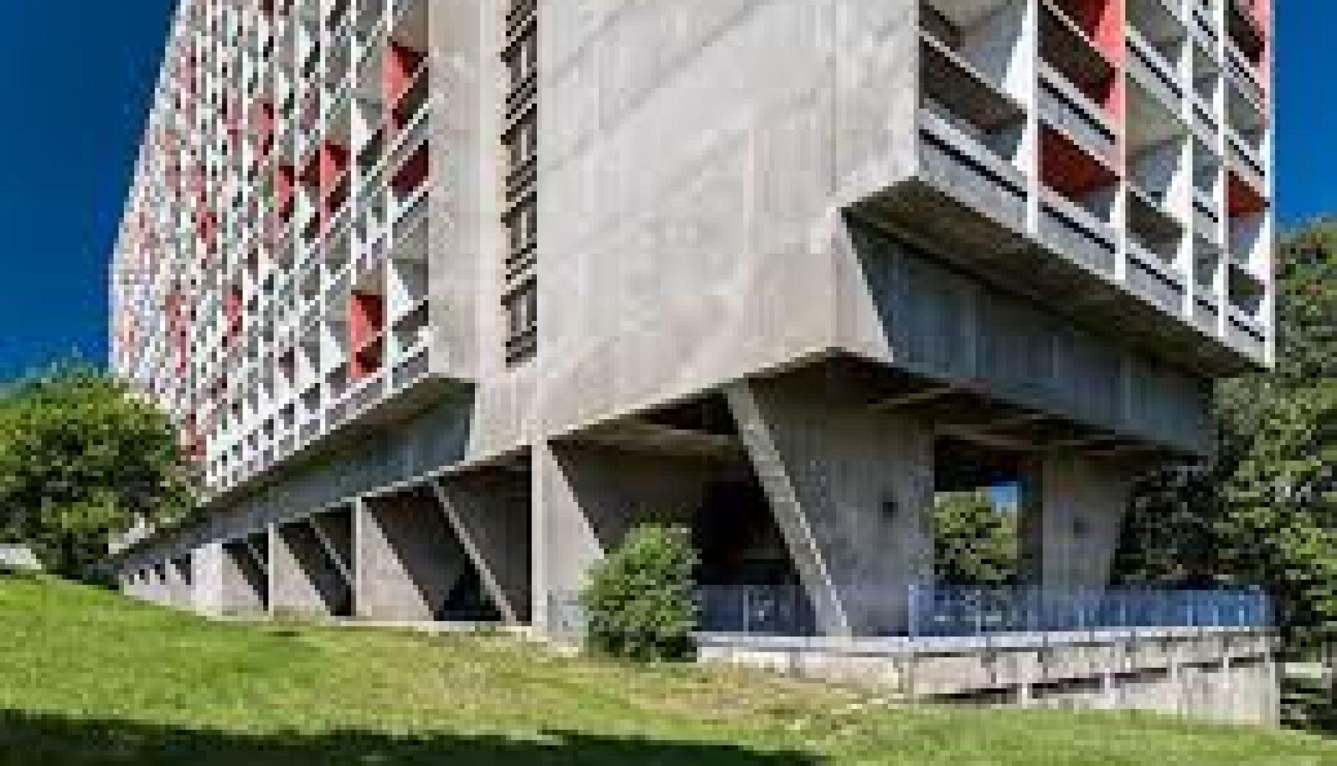 Firminy : unité d'habitation et site LE CORBUSIER